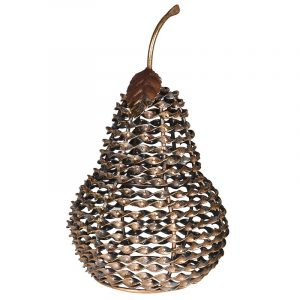 Antique Twisted Pear Ornament