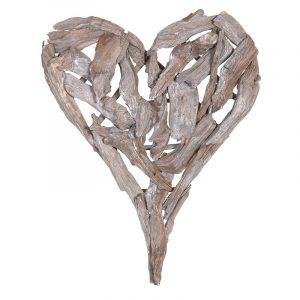 Denver Driftwood Heart