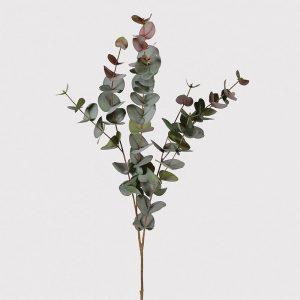 Faux Blush Eucalyptus Spray