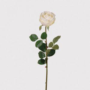 Faux Cream Rose Stem