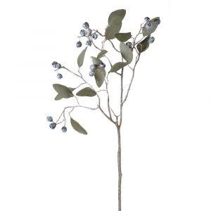 Frozen Eucalyptus Leaf Spray With Berries