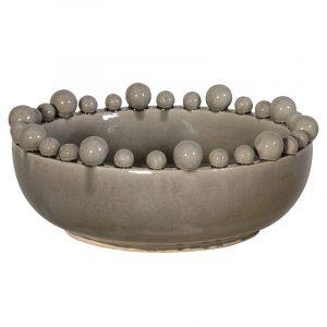 Grey Boston Bobble Bowl