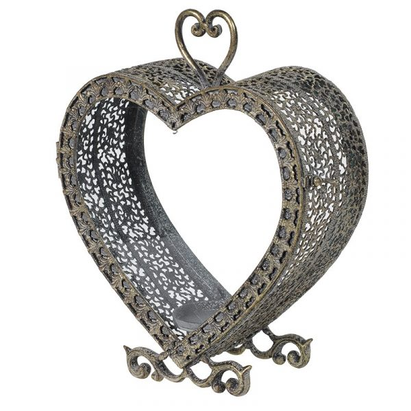 'Have a Heart' Metal Candle Holder