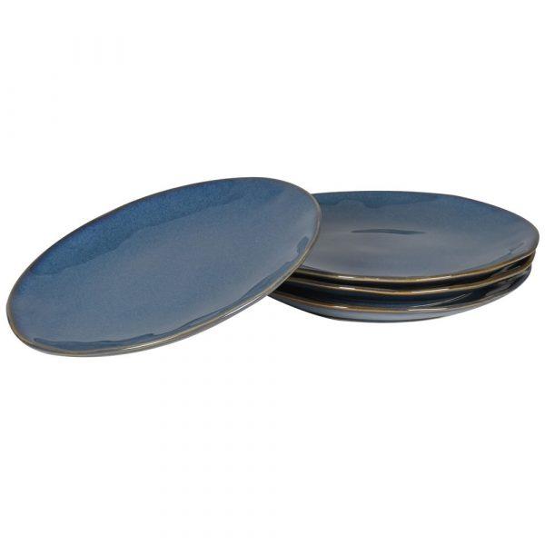 True Blue 4 Stoneware Side Plates