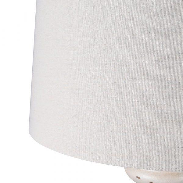Cream Floor Lamp and Shade 3 Floor Lamps Avoir Interiors