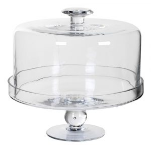 Glass Cake Dome Cake Stands Avoir Interiors