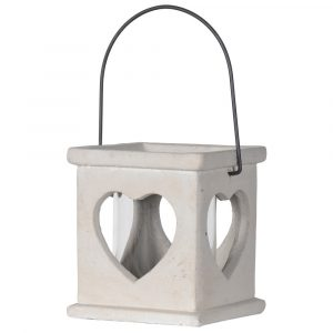 Heart Cement Candle Holder Candle Holders Avoir Interiors