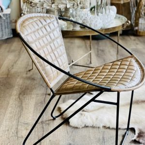 Oxana Brown Leather Chair Chairs Avoir Interiors 3 1