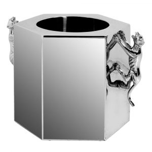 Chrome Wine Cooler Wine Coolers Avoir Interiors 1