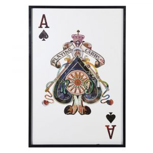 Large 3D Ace of Spades Card Picture Card Pictures Avoir Interiors