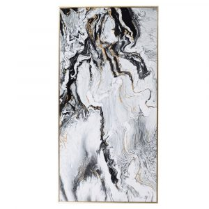 Large White Marble Effect Print Marble Pictures Avoir Interiors