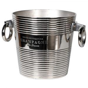 Nickel Champagne Bucket Champagne Buckets Avoir Interiors