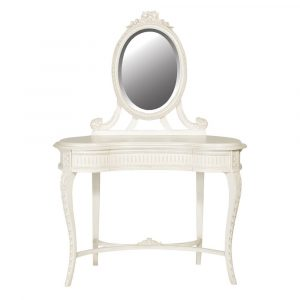 Provence Carved Dressing Table With Mirror Dressing Tables Avoir Interiors