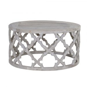 Round Henley Coffee Table Coffee Tables Avoir Interiors