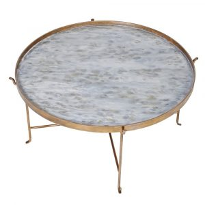 Round Pearl Coffee Table Coffee Tables Avoir Interiors 2