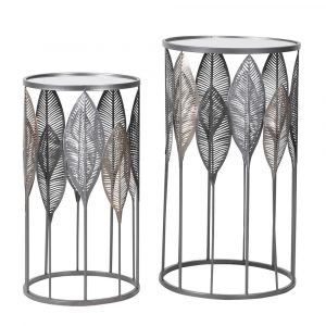 Set of 2 Leaf Tables Coffee Tables Avoir Interiors