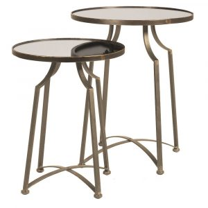 Set of 2 Riviera Tables Coffee Tables Avoir Interiors