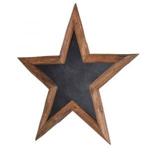 Wood Star Chalkboard Chalkboards Avoir Interiors