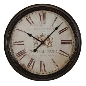 Chateau Noire Roman Numerals Clock Wall Clocks Avoir Interiors