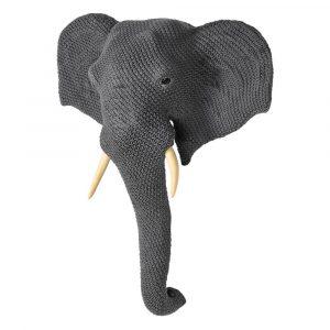 Enzo Large Elephant Head Wall Mount Elephant Heads Avoir Interiors