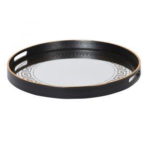 Versace Inspired Mirror Tray Trays Avoir Interiors